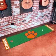 Clemson Tigers Golf Putting Green Mat