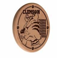 Clemson Tigers Laser Engraved Wood Sign