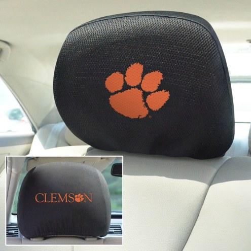 Clemson Tigers Headrest Covers