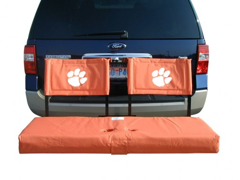 Clemson Tigers Tailgate Hitch Seat/Cargo Carrier