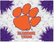 Clemson Tigers Logo Canvas Print