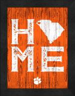 Clemson Tigers Home Away From Home Wall Decor
