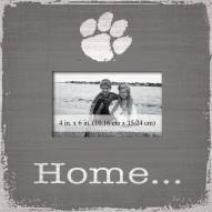 Clemson Tigers Home Picture Frame