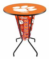 Clemson Tigers Indoor Lighted Pub Table