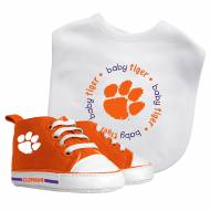 Clemson Tigers Infant Bib & Shoes Gift Set