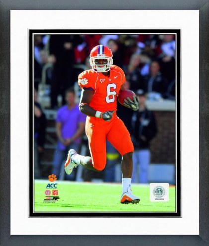 Clemson Tigers Jacoby Ford Clemson University Tigers 2006 Action Framed Photo