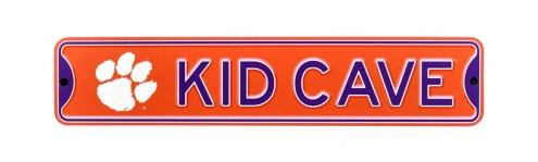 Clemson Tigers Kid Cave Street Sign
