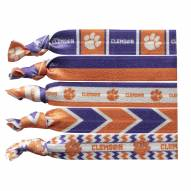 Clemson Tigers Knotted Hair Tie