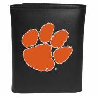 Clemson Tigers Large Logo Tri-fold Wallet