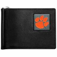 Clemson Tigers Leather Bill Clip Wallet