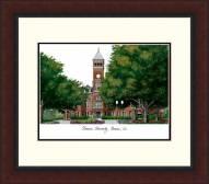 Clemson Tigers Legacy Alumnus Framed Lithograph