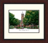 Clemson Tigers Legacy Alumnus Framed Lithograph