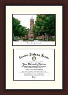 Clemson Tigers Legacy Scholar Diploma Frame