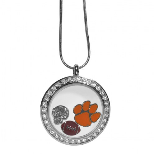 Clemson Tigers Locket Necklace