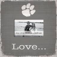 Clemson Tigers Love Picture Frame