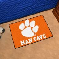 Clemson Tigers Man Cave Starter Mat