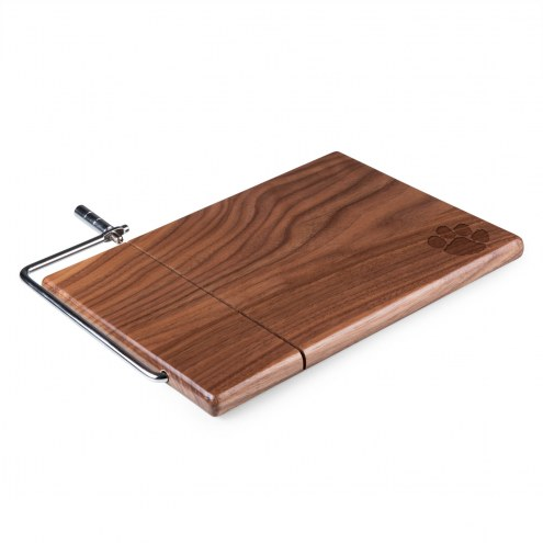 Clemson Tigers Meridian Cutting Board & Cheese Slicer