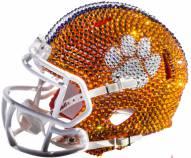 Clemson Tigers Mini Swarovski Crystal Football Helmet