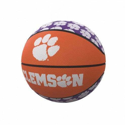 Clemson Tigers Mini Rubber Basketball