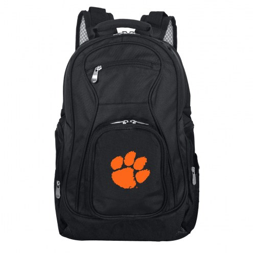 Clemson Tigers Laptop Travel Backpack