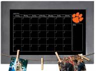 Clemson Tigers Monthly Chalkboard with Frame