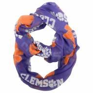 Clemson Tigers Sheer Infinity Scarf