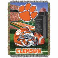 Clemson Tigers NCAA Woven Tapestry Throw Blanket