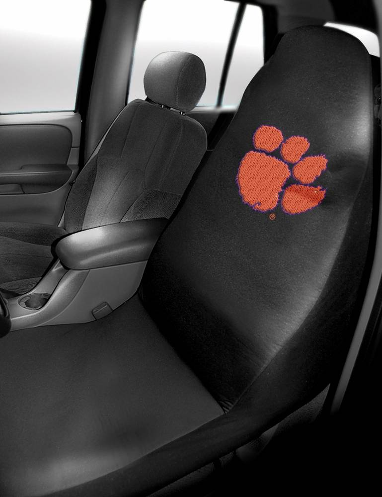 Make Your Ride A Little More Comfortable With The Clemson Tigers Car Seat Cover This Polyester Is Embroidered Favorite Team Logo And Easily