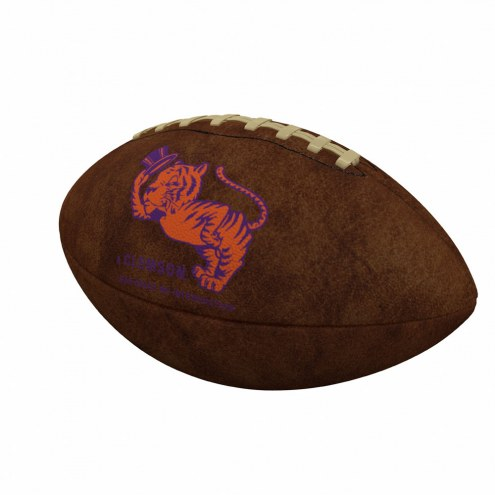 Clemson Tigers Official Size Vintage Football