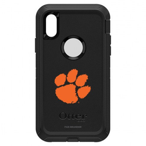 Clemson Tigers OtterBox iPhone XR Defender Black Case