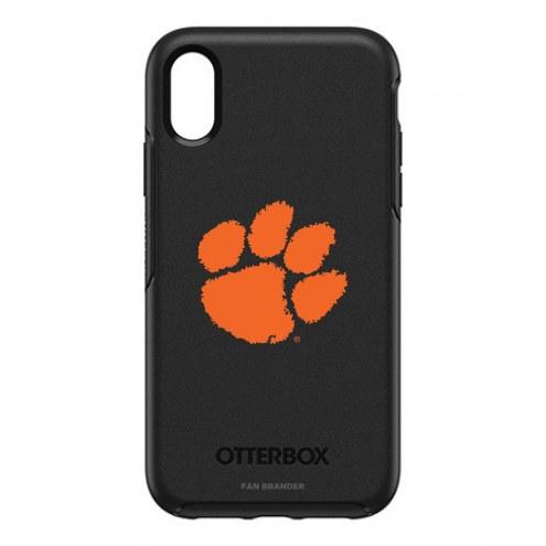 Clemson Tigers OtterBox iPhone XR Symmetry Black Case