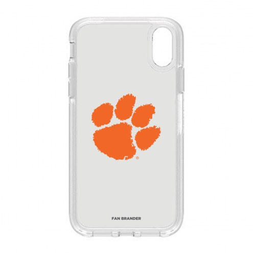 Clemson Tigers OtterBox iPhone XR Symmetry Clear Case
