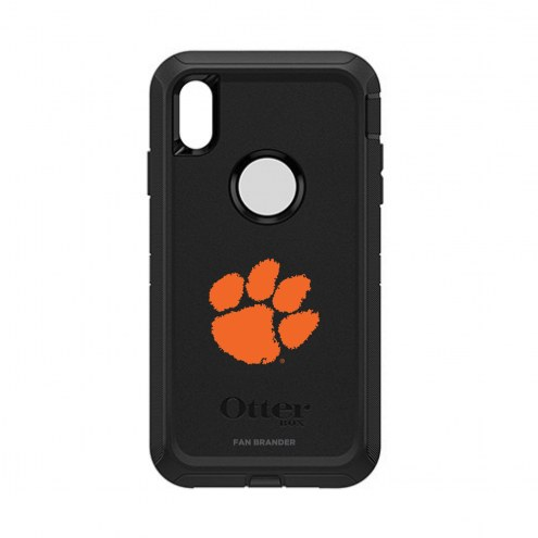 Clemson Tigers OtterBox iPhone XS Max Defender Black Case