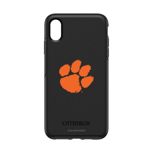 Clemson Tigers OtterBox iPhone XS Max Symmetry Black Case
