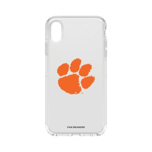 Clemson Tigers OtterBox iPhone XS Max Symmetry Clear Case