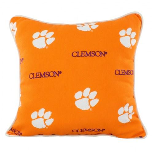 Clemson Tigers Outdoor Decorative Pillow