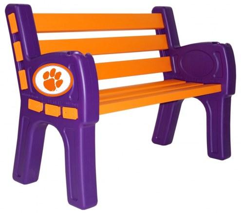 Clemson Tigers Park Bench