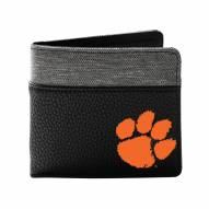 Clemson Tigers Pebble Bi-Fold Wallet