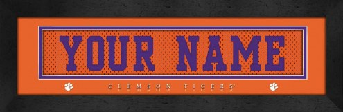 Clemson Tigers Personalized Stitched Jersey Print