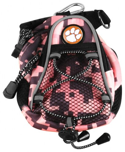 Clemson Tigers Pink Digi Camo Mini Day Pack