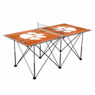 Clemson Tigers Pop Up 6' Ping Pong Table