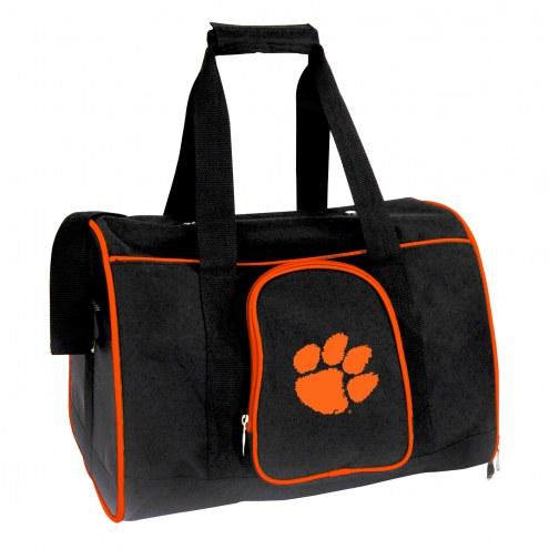 Clemson Tigers Premium Pet Carrier Bag