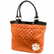 Clemson Tigers Quilted Tote Bag