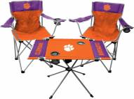 Clemson Tigers Table & Chairs Set