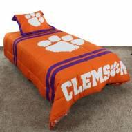 Clemson Tigers Reversible Comforter Set
