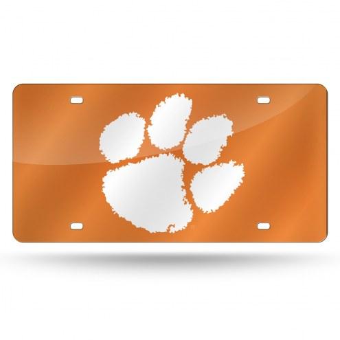 Clemson Tigers Laser Cut License Plate