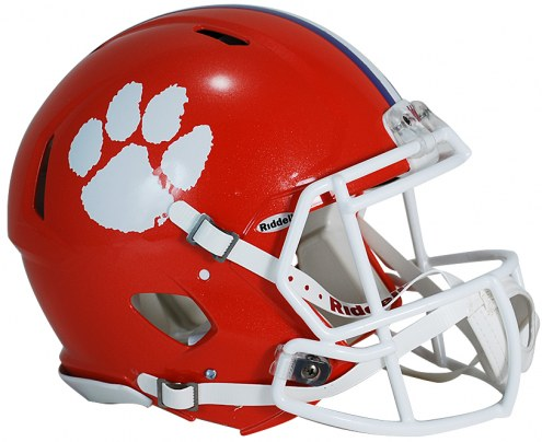 Clemson Tigers Riddell Speed Full Size Authentic Football Helmet