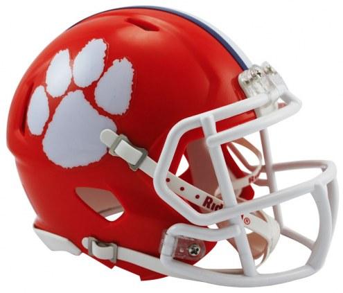Clemson Tigers Riddell Speed Mini Collectible Football Helmet