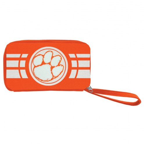 Clemson Tigers Ripple Zip Wallet