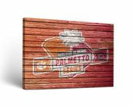 Clemson Tigers Rivalry Weathered Canvas Wall Art